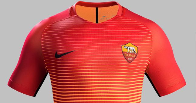 camiseta dela roma 2016